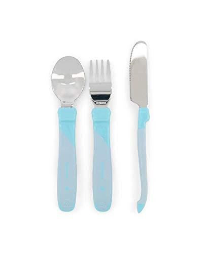 Twistshake 78210 - Cubiertos, color pastel azul