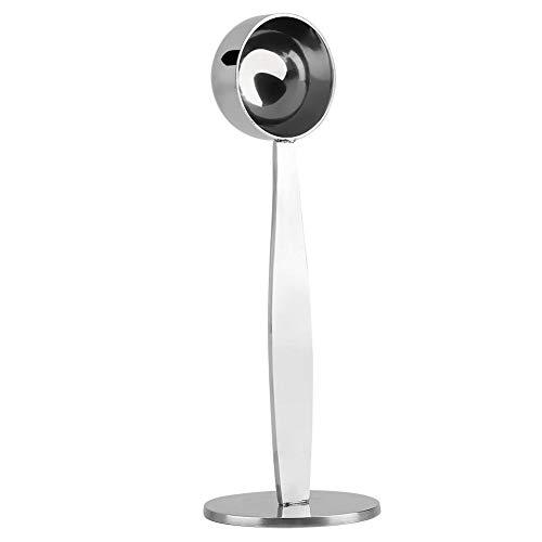 Cuchara de café de acero inoxidable Cuchara prensadora medición para apisonamiento Espresso de té Granos de café 5.5in