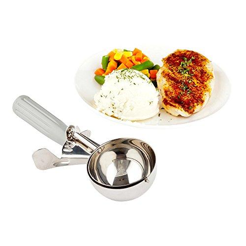 Restaurantware rwt0208met Lux # 40Disher porción Scoop orquídea 0,86oz 1Count caja tazas de medición