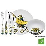 WMF 1286079964 Kids cutlery set MIONS 6pc, Cerámica, Multicolor
