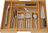 Home-it Expandable Cutlery drawer organiser, Flatware drawer dividers, kitchen drawer organiser nice cutlery holder