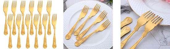 Juego de 12 tenedores para comer pescado marca  Nuyer Star