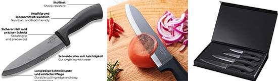 SILBERTHAL Cuchillos de Cerámica Cocina