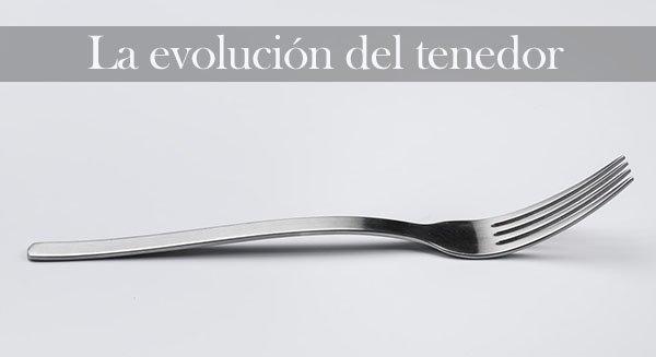 La evolución del tenedor