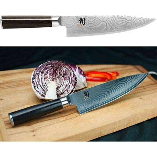 Kai Cuchillo profesional de Cocinero de Acero